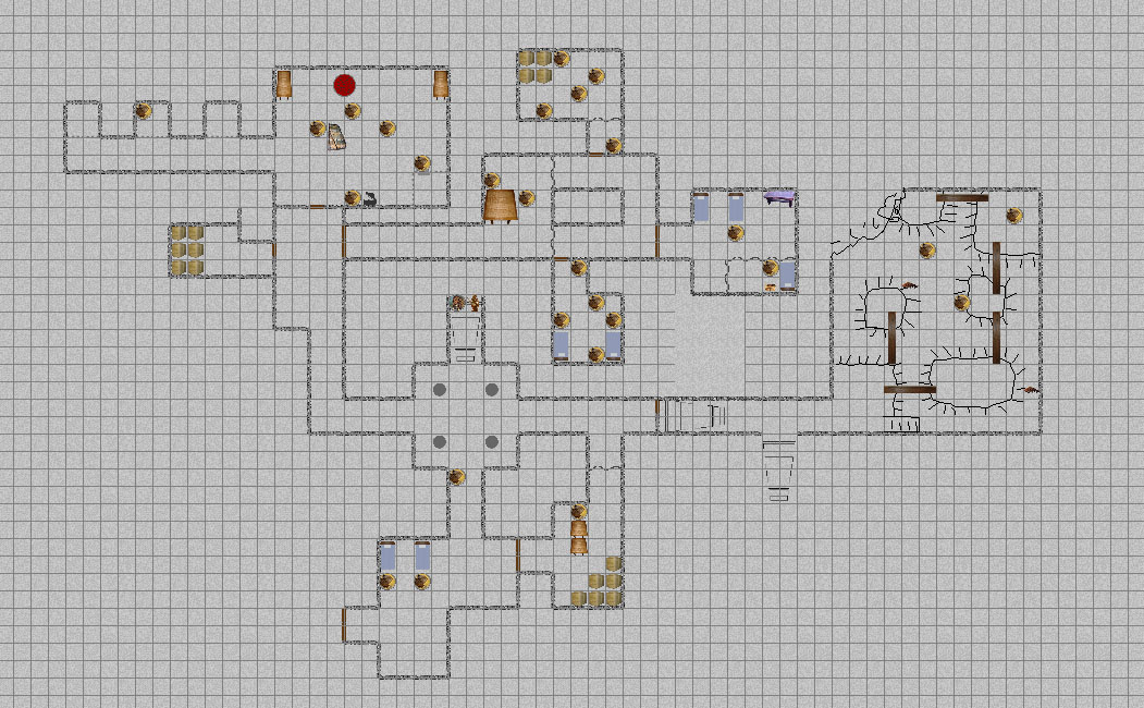 Keep on Shadowfell Map 1
