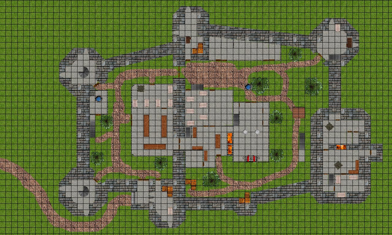 Adaptable image throughout d&d printable maps